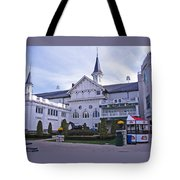 Churchill Downs Paddock Area Behind The Twin Spires Tote Bag