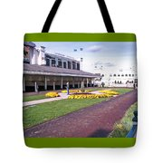Churchill Downs Paddock Area Tote Bag