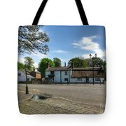 Churchtown Village After The Rain Tote Bag