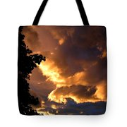 Churning Clouds 2 Tote Bag