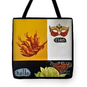 Ciao Means Hello Tote Bag