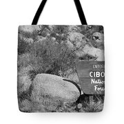Cibola National Forest Tote Bag