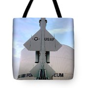 Cim-10a Bomarc Missile At The Air Force Museum Dayton Ohio Tote Bag