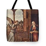 Cima Da Conegliano The Annunciation Tote Bag