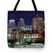 Cinci From The Opposite Side Tote Bag