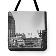 Cincinnati And Building  Tote Bag