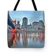 Cincinnati At Dusk Tote Bag