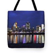 Cincinnati Night Lights Tote Bag