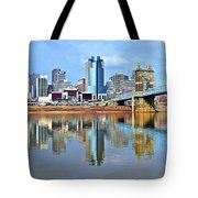 Cincinnati Ohio Times Two Tote Bag