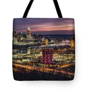 Cincinnati Sunrise Tote Bag