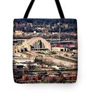 Cincinnati Union Terminal Tote Bag