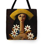 Cinco Margaritas Tote Bag by Oscar Ortiz