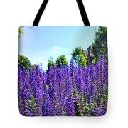 Cincy Flower Field Tote Bag