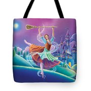 Cinderella Poster Tote Bag by Anne Wertheim