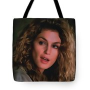 Cindy Crawford Tote Bag