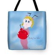 Cindy Lou Who Illustration  Tote Bag