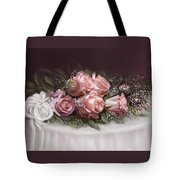 Spray Of  Roses Tote Bag
