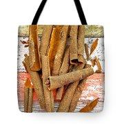 Cinnamon Bark Tote Bag