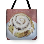 Cinnamon Roll Tote Bag