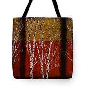 Cinque Betulle Tote Bag by Guido Borelli