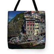 Cinque Terre Northern Italy Tote Bag