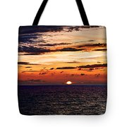 Cinque Terre - Sunset From Manarola - Panorama Tote Bag