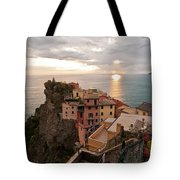Cinque Terre Tranquility Tote Bag by Mike Reid