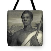 Cinque, The Chief Of The Amistad Captives Tote Bag