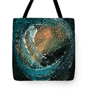 Visitors Eye Tote Bag