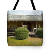 Circa 1900 Dogtrot Cabin Of Ephriam Brown From Lake Mills Florida Tote Bag