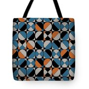 Circle Grid Tote Bag