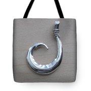 Circle Hook Pendant Tote Bag
