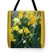 Circle Of Daffodils Tote Bag