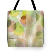 Circle Pattern Overlay II Tote Bag