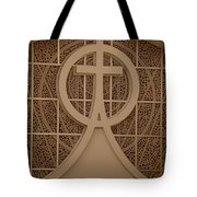 Circle T Church Tote Bag