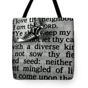 Circled Is The Word Love Tote Bag