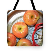 Circles 1 - Apples Tote Bag
