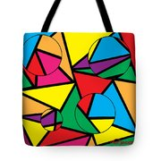 Circles Affecting Triangles  Tote Bag