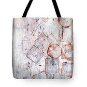 Circles And Squares Tote Bag
