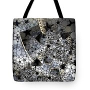 Circles And Stars Tote Bag