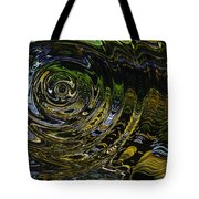 Circles And Swirls Tote Bag