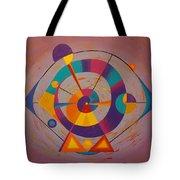 Circles In Space Tote Bag