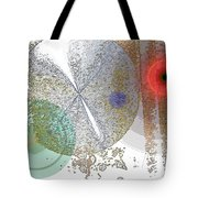Circles In The Musical Forest Tote Bag