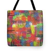 Circles Tote Bag by Jacqueline Athmann