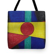 Circles Lines Color #4 Tote Bag