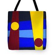 Circles Lines Color Tote Bag