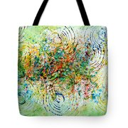 Circles Of Life Tote Bag