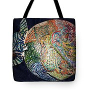 Circles Of Understanding Tote Bag