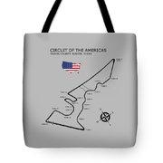 Circuit Of The Americas Tote Bag by Mark Rogan