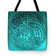 Circular Art Tote Bag